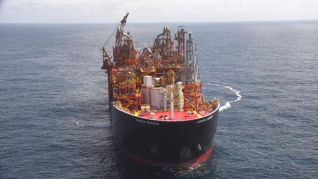 The floating production facility used on the Kraken field off Shetland Picture: Cairn Energy