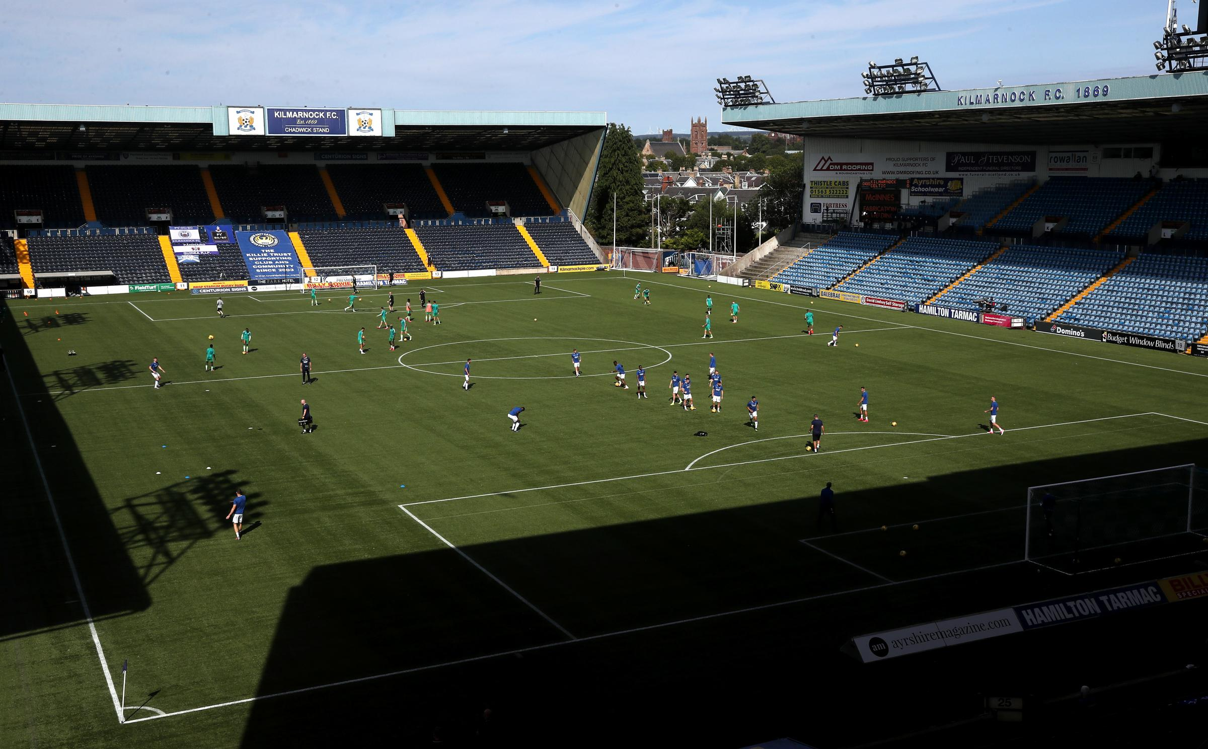 Kilmarnock vs Motherwell in serious doubt as whole Killie squad are forced into self-isolation