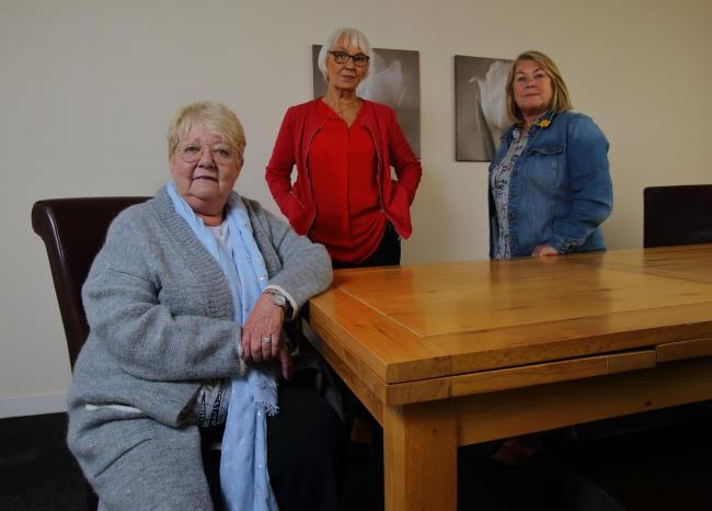 Evelyn Conroy, Dorothy McLean and Anne Robin are all pursuing claims against Unison