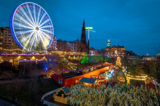 Edinburgh Christmas markets set to return with ice rink | HeraldScotland