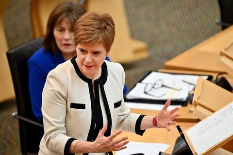 In full: Nicola Sturgeon responds to PM's announcement on national lockdown in England