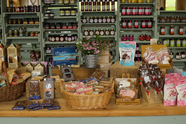 HeraldScotland: The Heron Farm Shop and Kitchen near Strathaven. Picture: Colin Mearns/The Herald