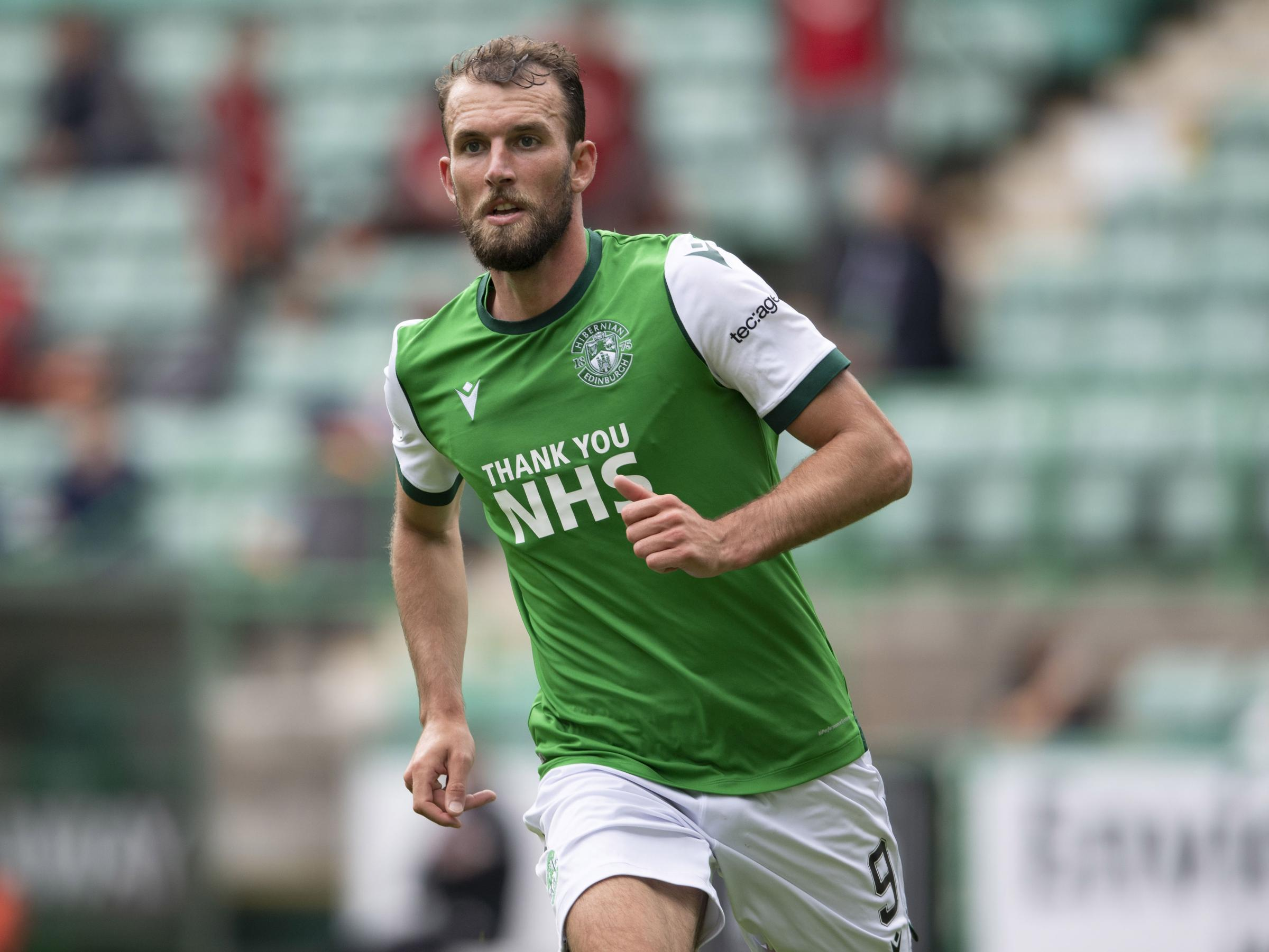 Hibs' Christian Doidge on the training ground routine that sealed win over Accies