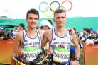 Callum and brother Derek Hawkins ran the marathon at the Rio Olympics