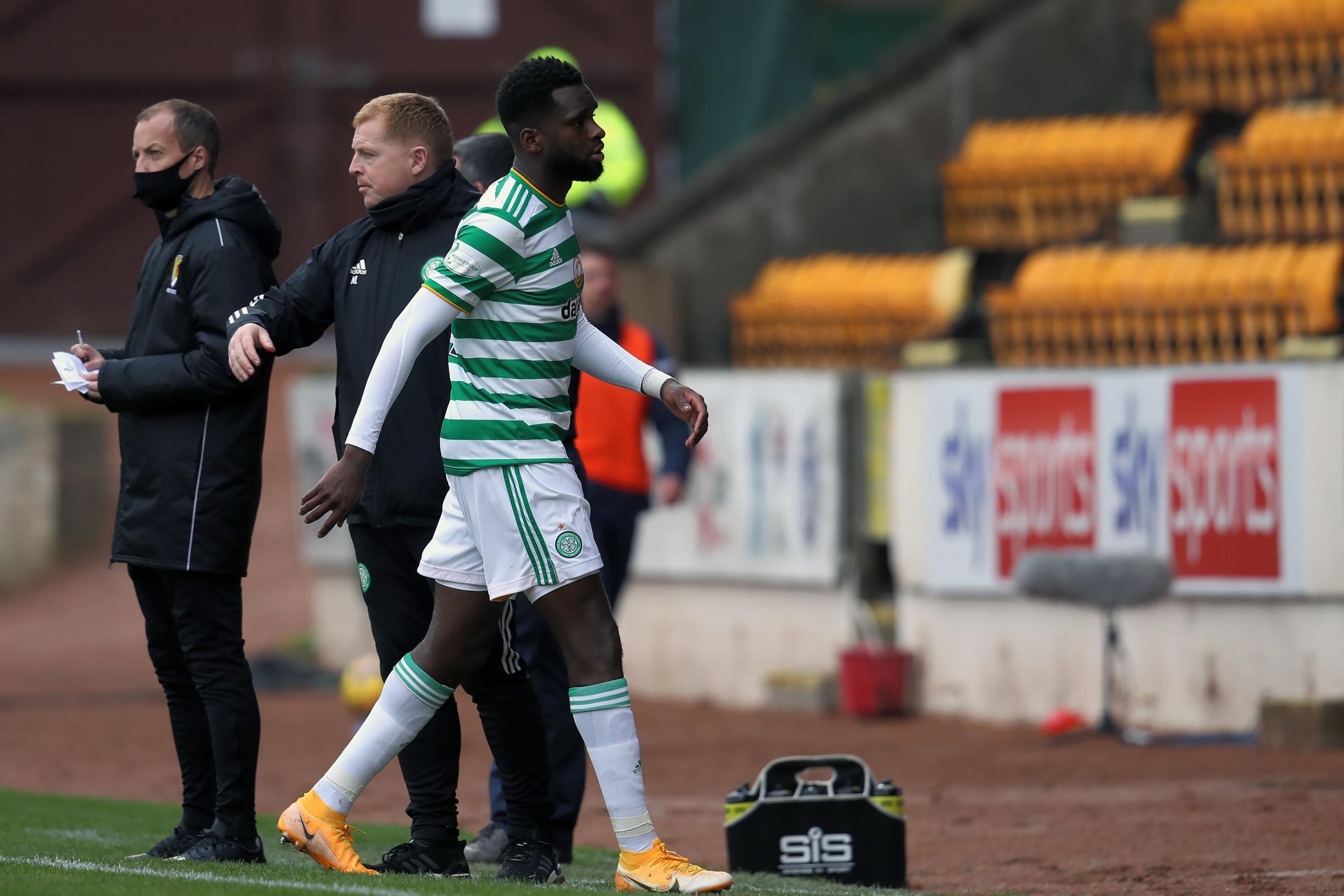 Neil Lennon tells 'disappointing' Odsonne Edouard to regain his focus on Celtic