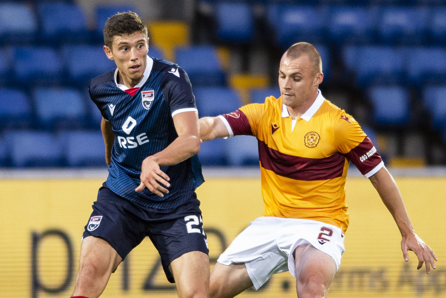Richard Brittain keeping fingers crossed no deadline day bids are tabled for Ross County striker Ross Stewart