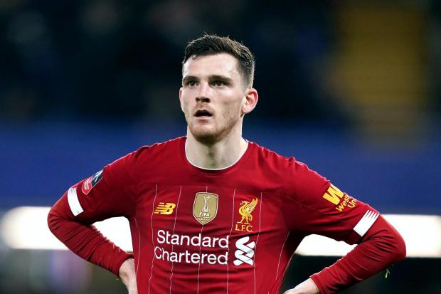 HeraldScotland: Robertson now plays for English giants Liverpool