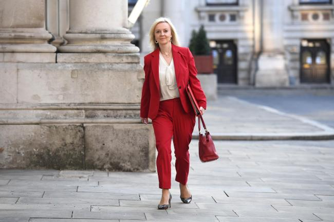 Liz Truss's talk about the Vietnam deal providing 'certainty' for businesses seems pretty rich given the EU situation Picture: Leon Neal/PA Wire