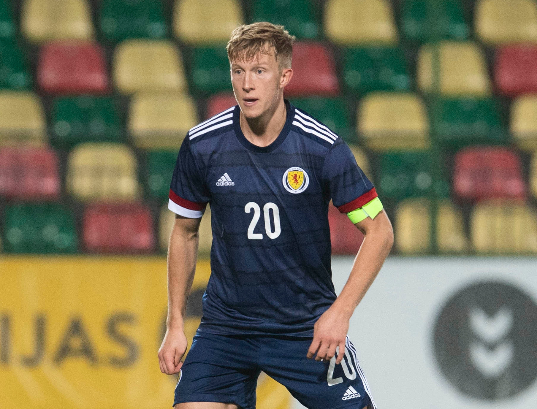 Ross McCrorie handed first Scotland call-up