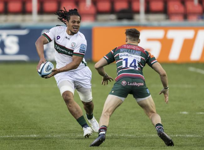 TJ Ioane in action for London Irish