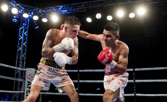 Kash Farooq lost out to Lee McGregor in a contentious points defeat in November but is hoping for a re-match next year