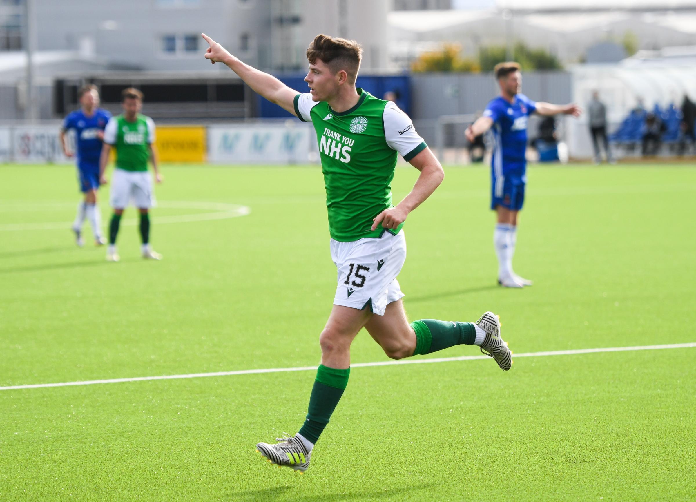 Hibs' Kevin Nisbet sets sights on Scotland cap