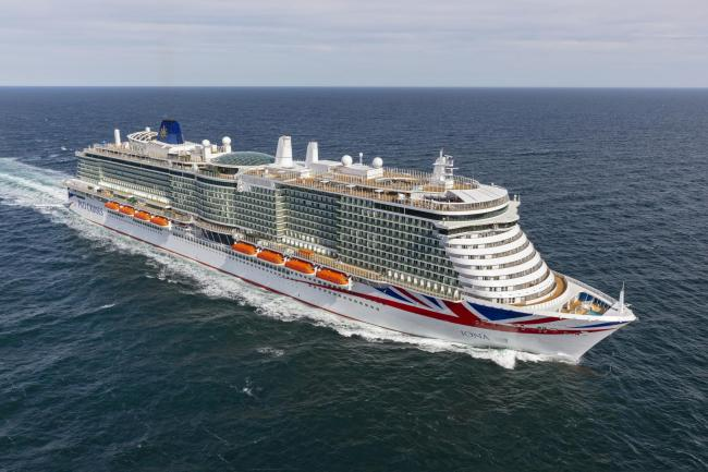 P&O takes delivery of Iona, the largest cruise ship built for UK market