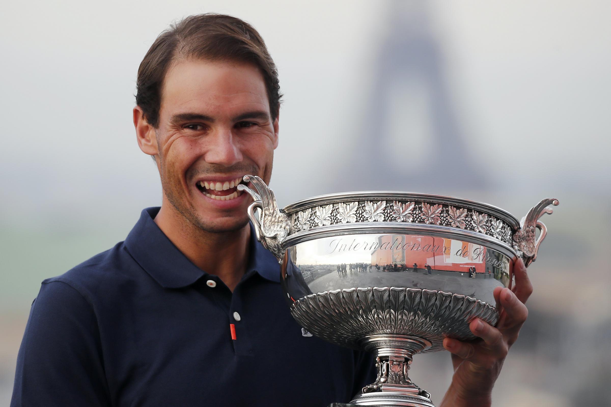 Andy Murray mengatakan bahawa Terbuka Perancis Nadal 'salah satu rekod terbaik dalam sukan'