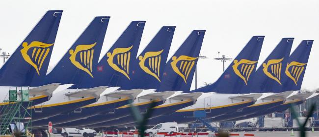 Ryanair axes more than a third of its routes