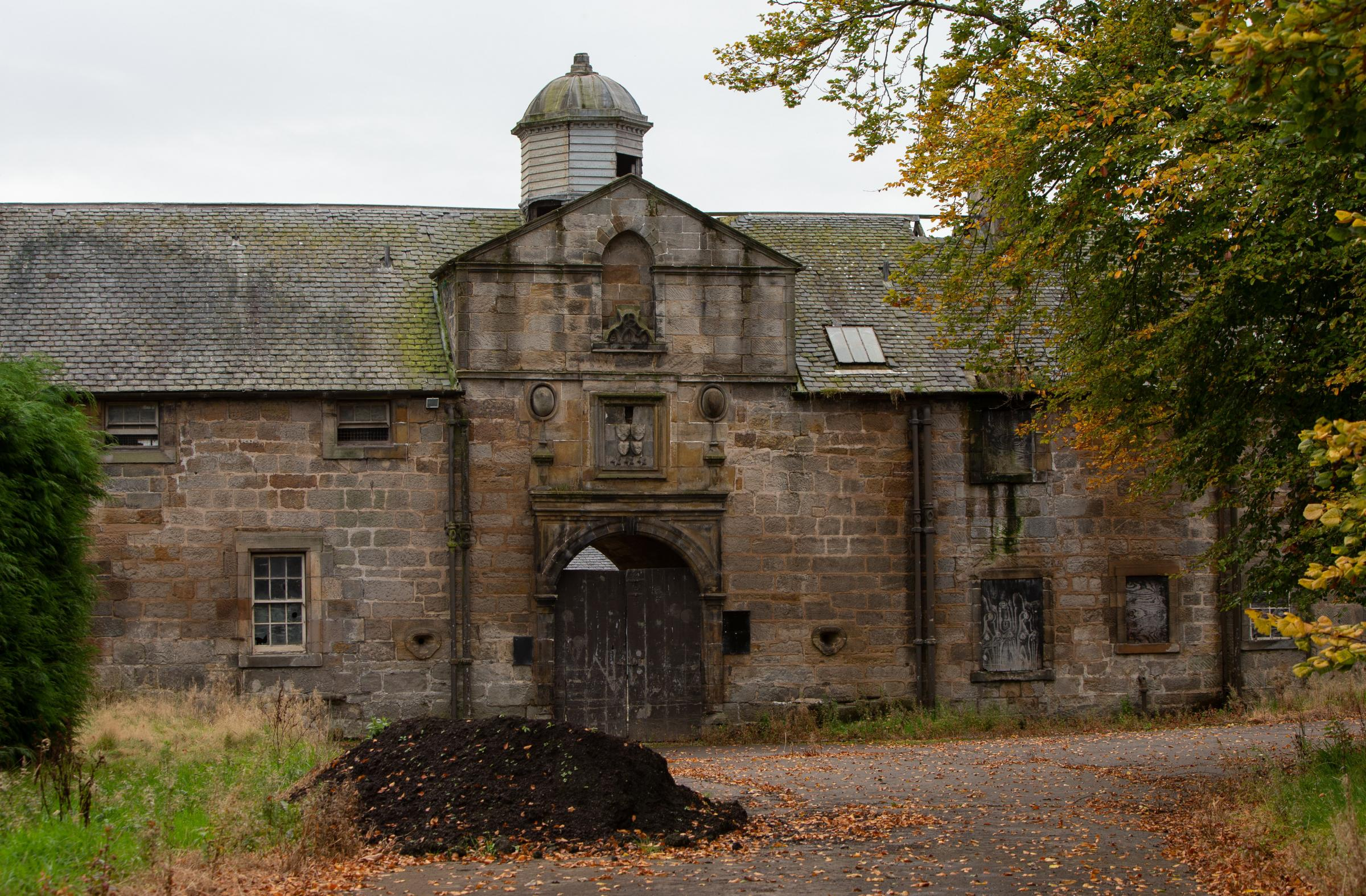 A funding bid has been submitted to develop the stables at Pollok country park. Photograph by Colin Mearns.