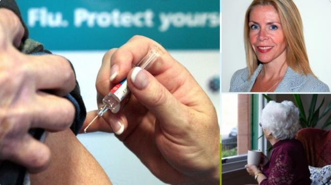 Professor Linda Bauld said the way the flu vaccine is being rolled out in some areas this year is 'short-sighted' and leaves the most vulnerable at risk