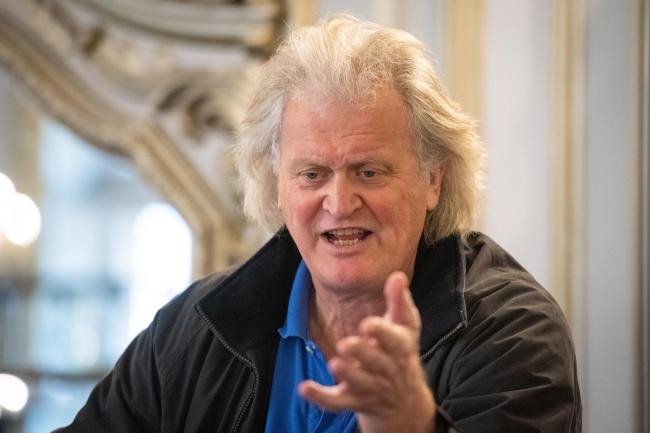 Founder and Chairman of JD Wetherspoon, Tim Martin. Dominic Lipinski/PA Wire