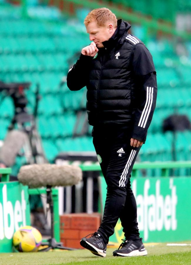 Celtic manager Neil Lennon. Photo: Jane Barlow/PA Wire.
