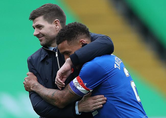 Steven Gerrard and James Tavernier