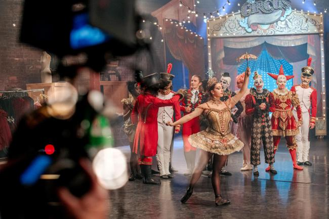 'The show will go on': Scottish Ballet announces Christmas feature film in winter programme
