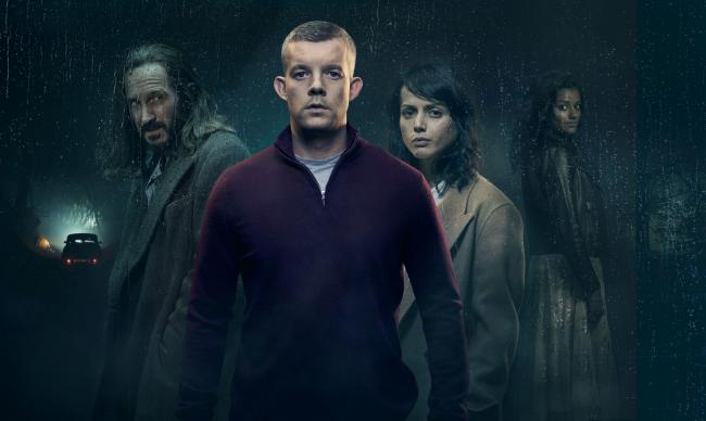 The Sister with Bertie Carvel as Bob, Russell Tovey as Nathan, Amrita Acharia as Holly, Simone Ashley as Elise