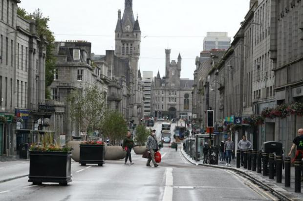 HeraldScotland: Aberdeen found itself back in lockdown in August after an outbreak linked to pubs
