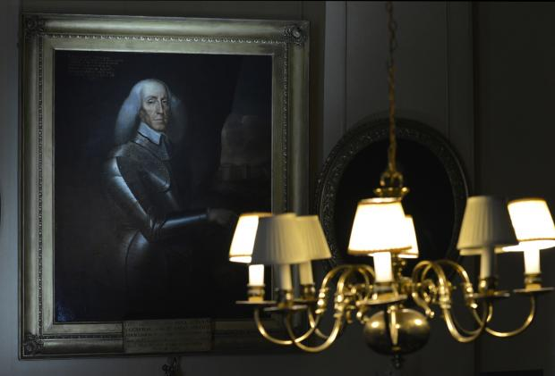 HeraldScotland: A portrait of General Sir Thomas Dalyell of The Binns. Picture: National Trust for Scotland