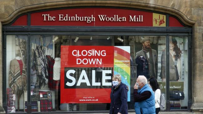 Edinburgh Woollen Mill granted 10-day extension as thousands of jobs hang in balance