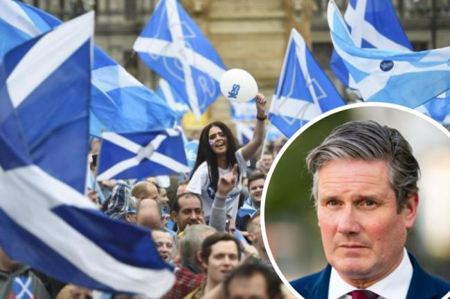 Labour leader Keir Starmer 'cannot deny' rising support for indyref2 in Scotland