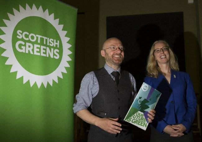 Greens can 'maybe catch Labour' in 2021 Holyrood election, co-leader says