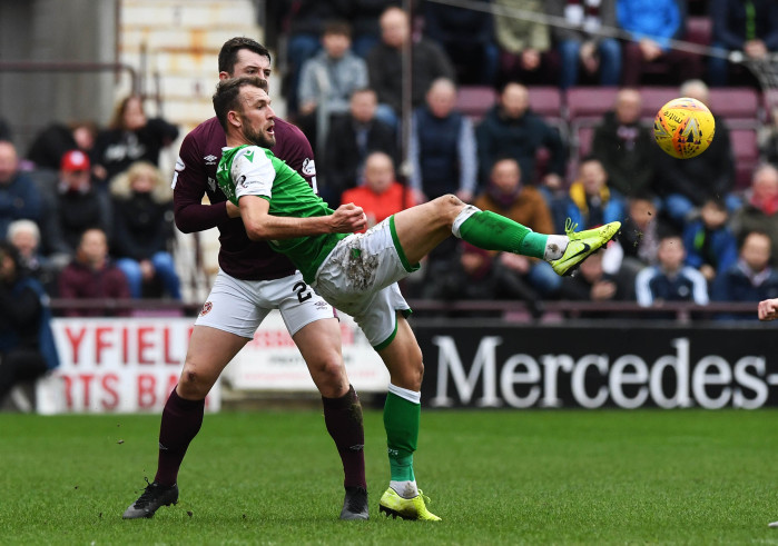 Hearts vs Hibs: Christian Doidge sets sights on Scottish Cup semi-final after impressing in Kilmarnock win