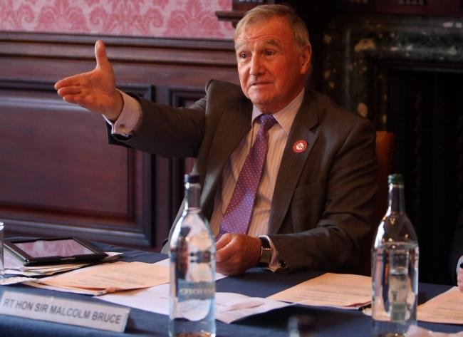 Lord Malcolm Bruce wants the Internal Market Bill plans put 'on ice'