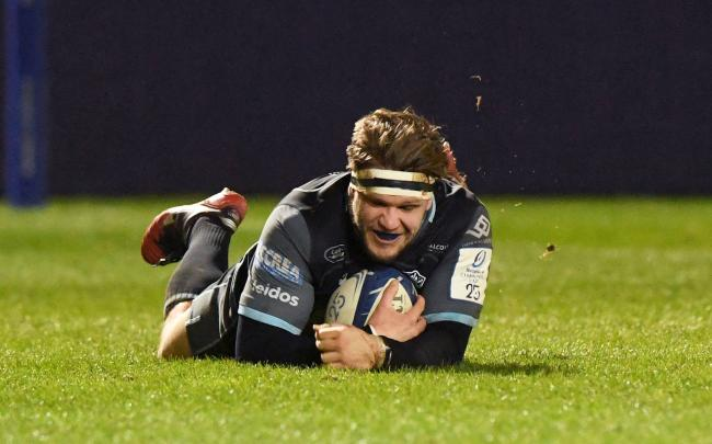 George Turner scored a try for Glasgow