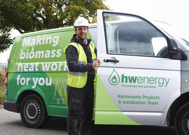 John Collins, Service Engineer at HWEnergy in Fort William is delighted with BT's efforts to help small businesses