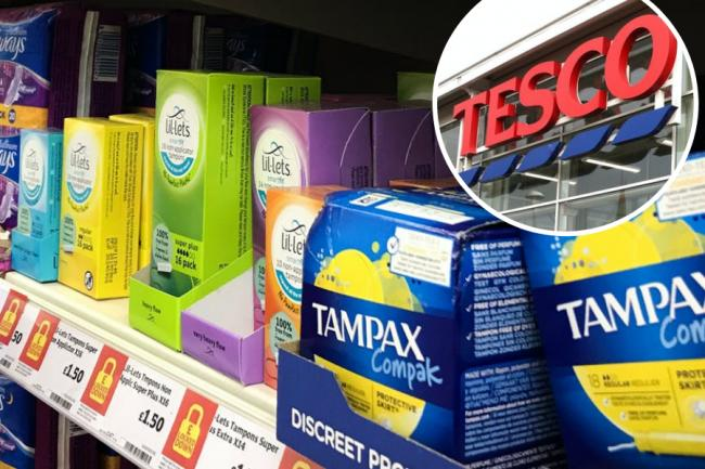 Tesco apologises for telling woman she can't buy sanitary products amid new restrictions confusion