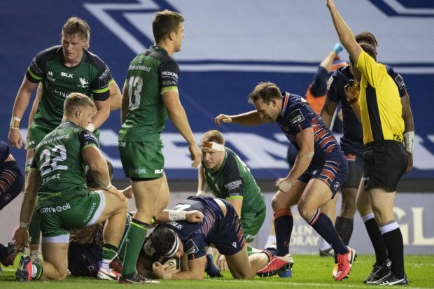 Mike Willemse scored two tries against Connacht but it wasn't enough for Edinburgh to avoid defeat