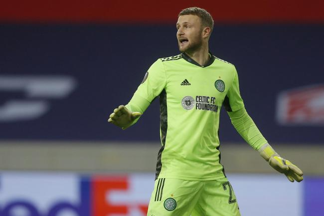 Scott Bain was impressive against Lille as Celtic earned a 2-2 draw.