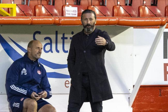 Derek McInnes warns Celtic there's more to come from Aberdeen who are still hurting from dropped points