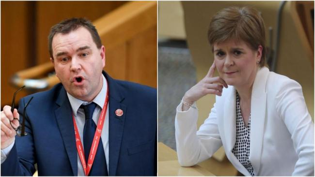 Neil Findlay has demanded answers from Nicola Sturgeon over the care home transfers