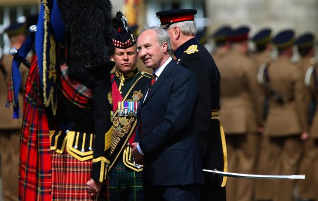 The Duke of Buccleuch inspects the Royal Scots Dragoon Guards while serving as Lord High Commissioner to the General Assembly of the Church of Scotland in May 2019. Picture: Gordon Terris.