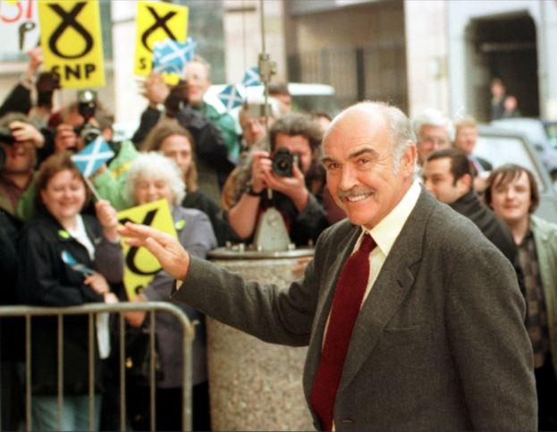 Sir Sean Connery: An advocate of independence who was an ambassador for Scotland on a global stage