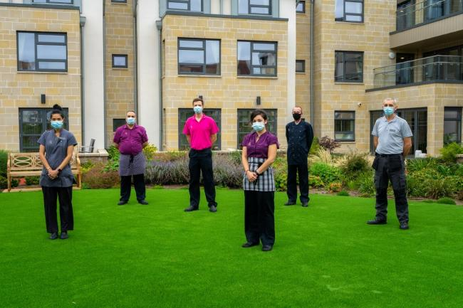 Scottish care home fights spread of Covid-19 with state-of-the-art uniform cleaning service