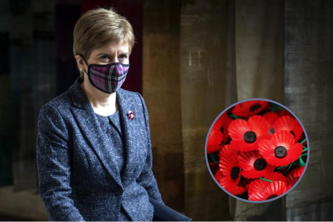 Nicola Sturgeon urges Scots to observe Remembrance Sunday from home — here's what you can do