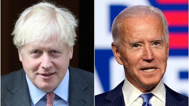 Boris Johnson to call Joe Biden 'shortly' as he stresses common goals and expresses hope over trade deal