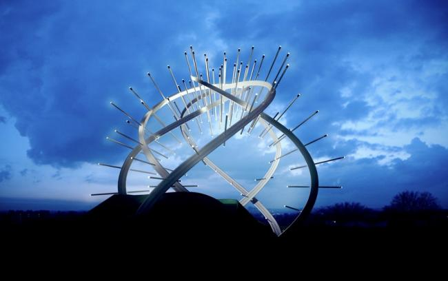 Anglo-Scottish border to be lit up with £7m landmark sculpture