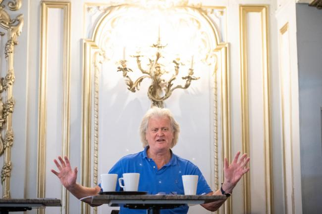 Wetherspoon's Tim Martin criticises Scotland's 'extremely onerous' tier system after sales plunge | Gambling giant revenue up a third in three months