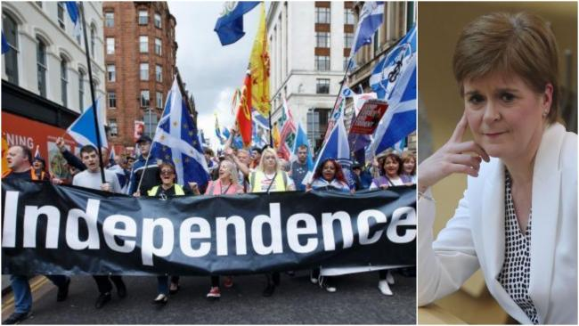 Nicola Sturgeon has not yet set out when a second independence referendum should take place