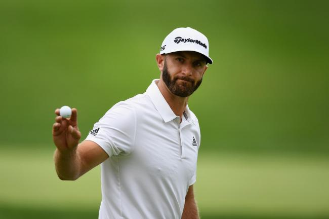 Dustin Johnson played like a well-oiled, fine-tuned clump of golfing engineering