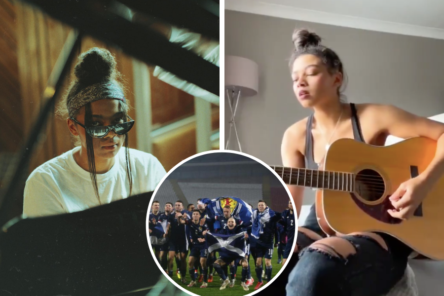 'Yes Sir, I Can Boogie': Brooke Combe stuns with song cover following Scotland's Euro 2020 qualifier